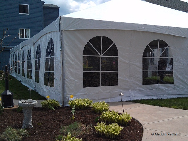 winery tent rental