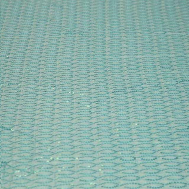 Where to find HELIX SEQUIN LINEN, TURQUOISE in Cleveland