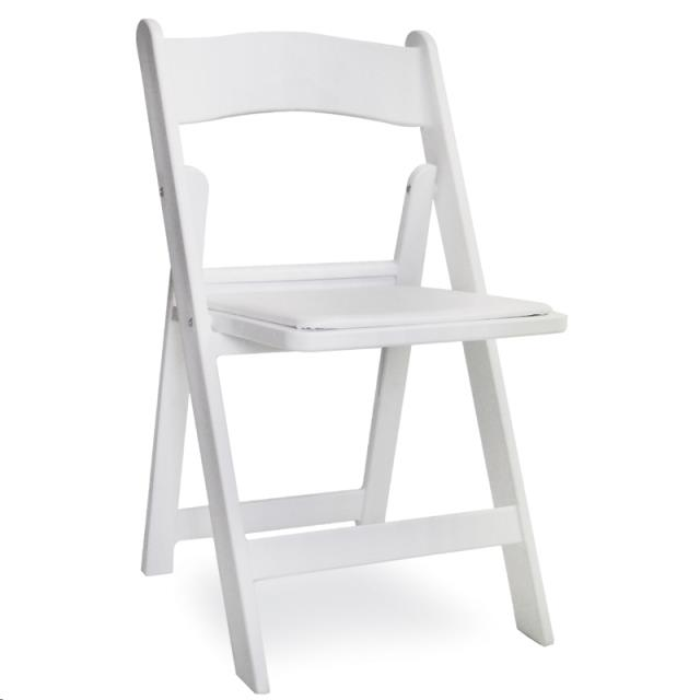 Where to find CHAIR, WHITE PAD   FRAME, RESIN in Cleveland