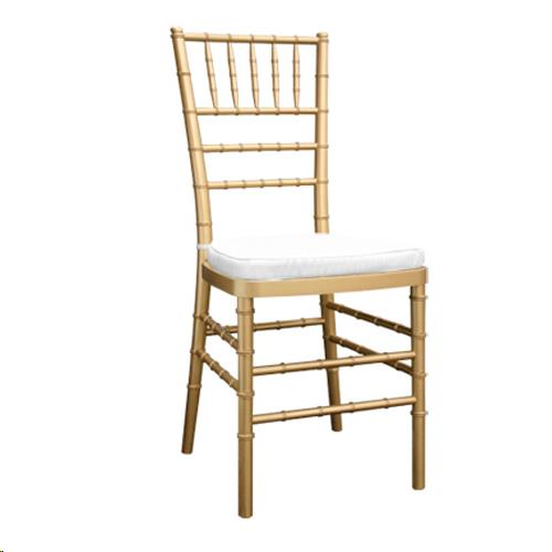 Where to find CHAIR, CHIAVARI, GOLD, IVORY PAD in Cleveland