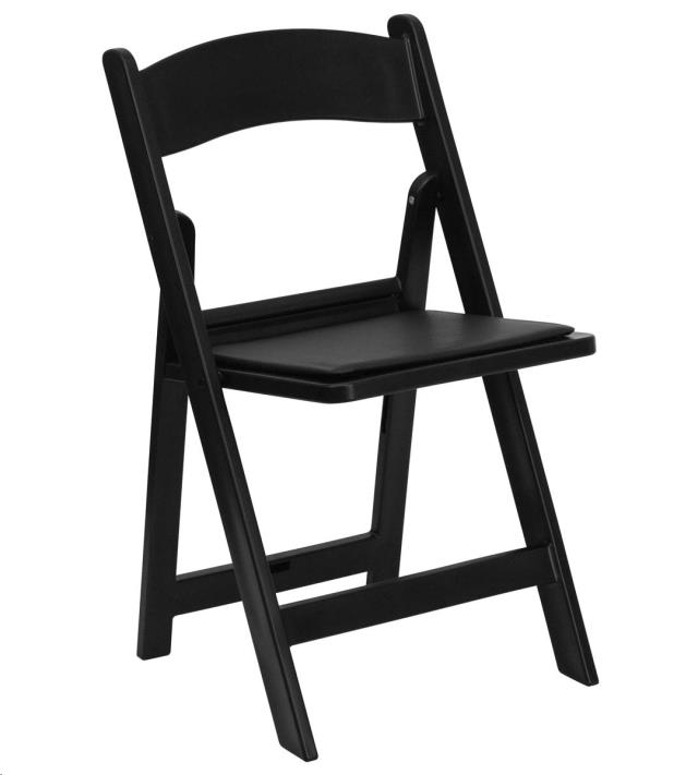 Where to find CHAIR, BLACK PAD RESIN FRAME in Cleveland