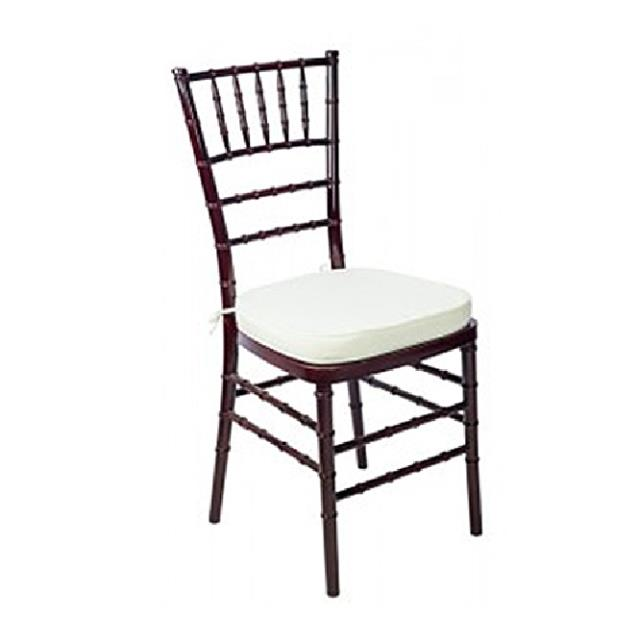 Where to find CHAIR, CHIAVARI, MAHOGANY, IVORY PAD in Cleveland