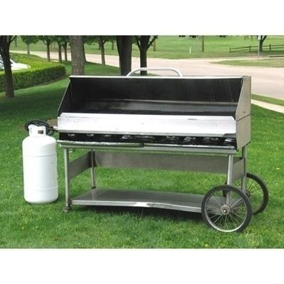 Where to find GRILL, PROPANE, 4  W HOOD, CART in Cleveland