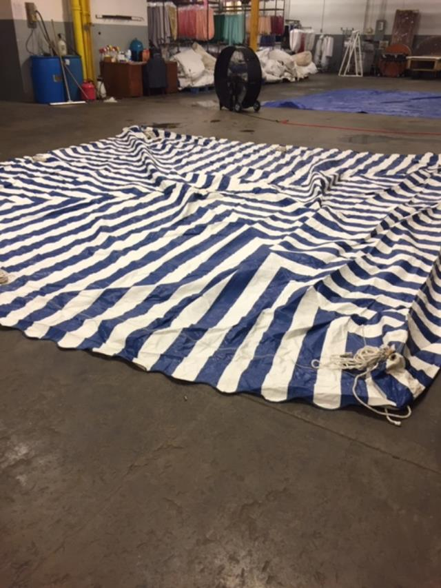 Where to find CANOPY, 15X15 BLUE   WHITE FOR SALE in Cleveland