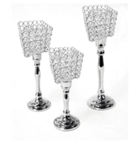 Rental store for CENTERPIECE, CRYSTAL VOTIVE HOLDERS 3PC in Cleveland OH
