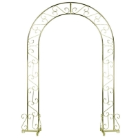Rental store for BRASS WEDDING ARCH, HEART SHAPED in Cleveland OH