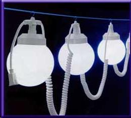 Where to find TENT LIGHT, LIGHT STRING W 8 WHT GLOBES in Cleveland