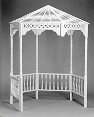 Where to find WHITE WOOD GAZEBO in Cleveland