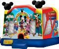 Rental store for MICKEY PARK BOUNCE HOUSE   SLIDE COMBO in Cleveland OH