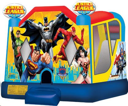Where to find JUSTICE LEAGUE BOUNCE HOUSE  SLIDE COMBO in Cleveland