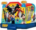 Rental store for JUSTICE LEAGUE BOUNCE HOUSE  SLIDE COMBO in Cleveland OH