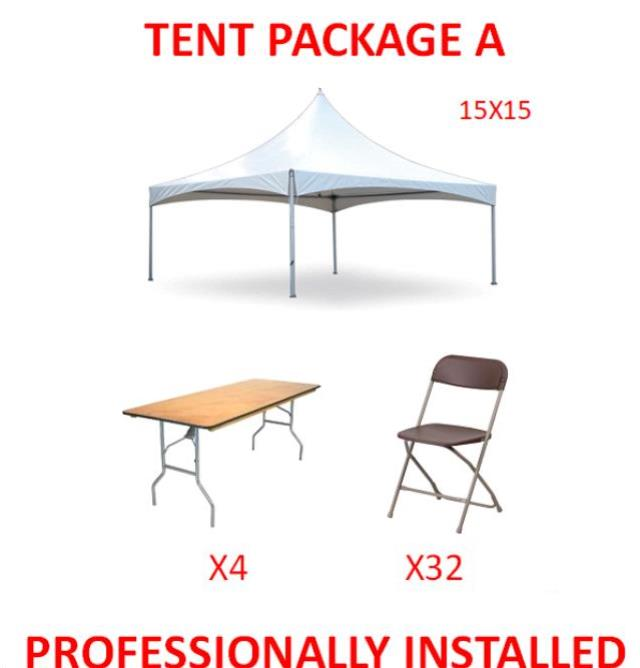 Where to find PARTY TENT PACKAGE A in Cleveland