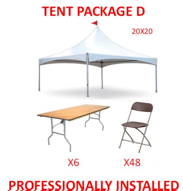 Where to find PARTY TENT PACKAGE D in Cleveland