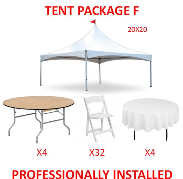 Where to find PARTY TENT PACKAGE F in Cleveland