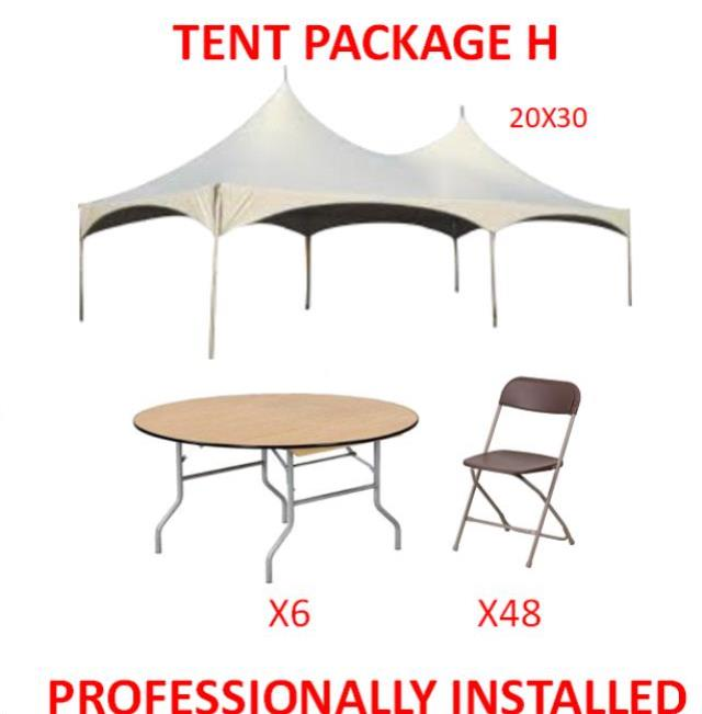 Where to find PARTY TENT PACKAGE H in Cleveland