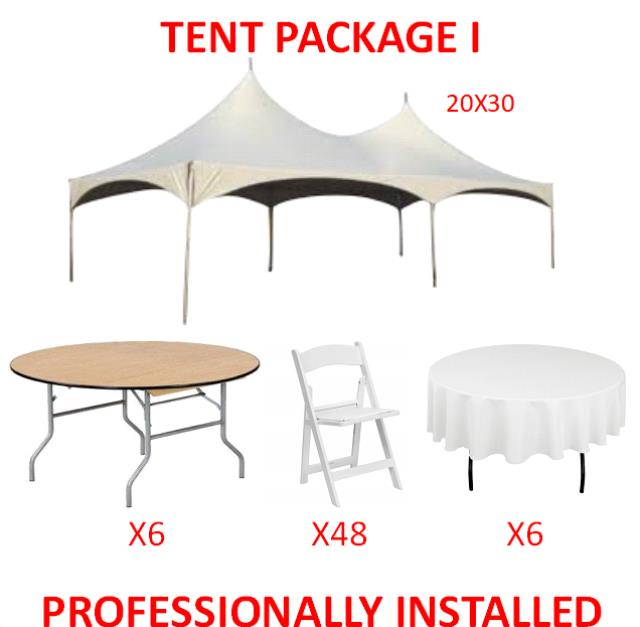 Where to find PARTY TENT PACKAGE I in Cleveland
