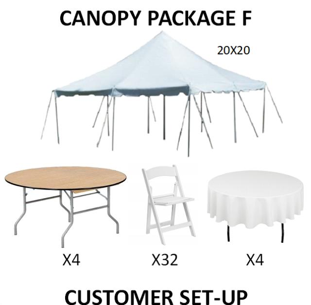 Where to find PARTY CANOPY PACKAGE F in Cleveland