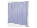 Rental store for BACKDROP, 8 H x 10 L WHITE POLY SATEEN in Cleveland OH