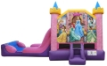 Rental store for DISNEY PRINCESS BOUNCE HOUSE SLIDE COMBO in Cleveland OH