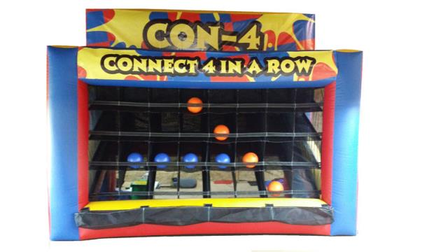 Where to find INFLATABLE CONNECT 4 GAME in Cleveland
