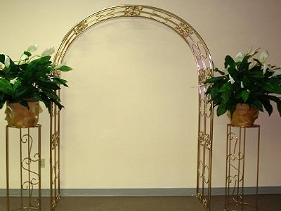 Rent Arches And Plant Stand