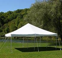 Rent Canopy Tents - Customer Set-up