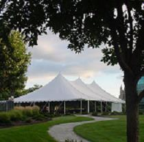 Rent Frame & Pole Tents -  Installed