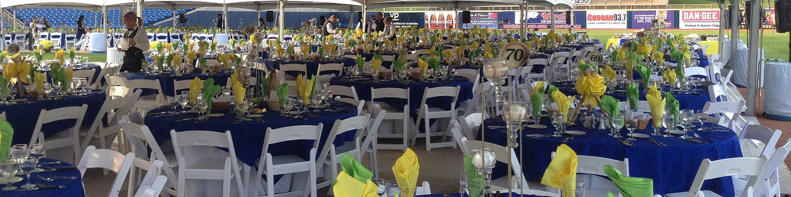 Event rentals in Northeast Ohio